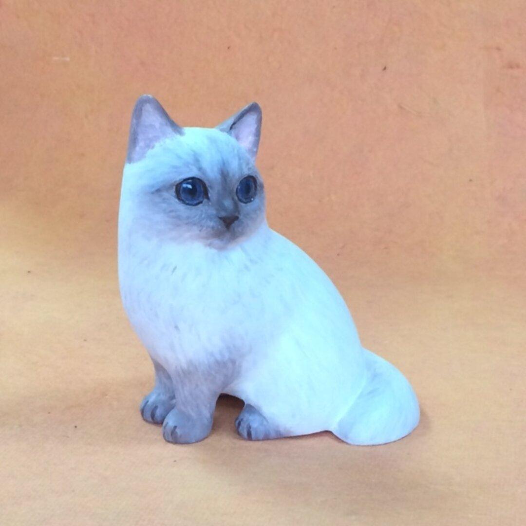ヒマラヤン猫  (猫の置物)