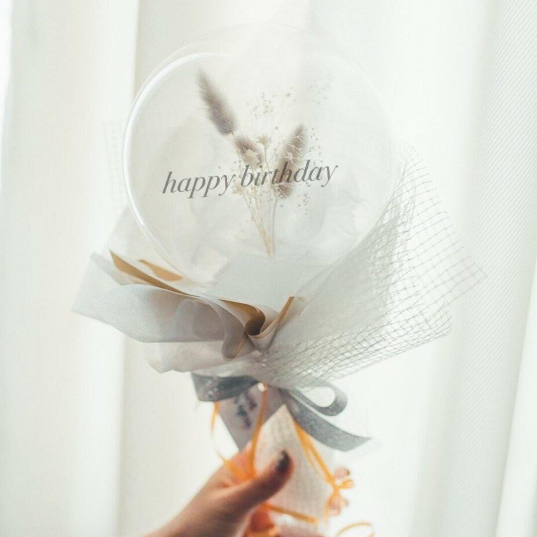 バルーンブーケ♡balloon flower♡ホワイト