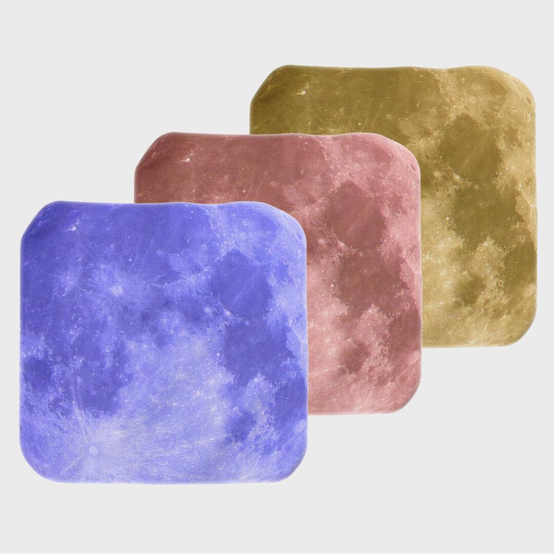 【New!】Lunar's Graphic Handkerchief (3 colors) 惑星柄ハンカチ