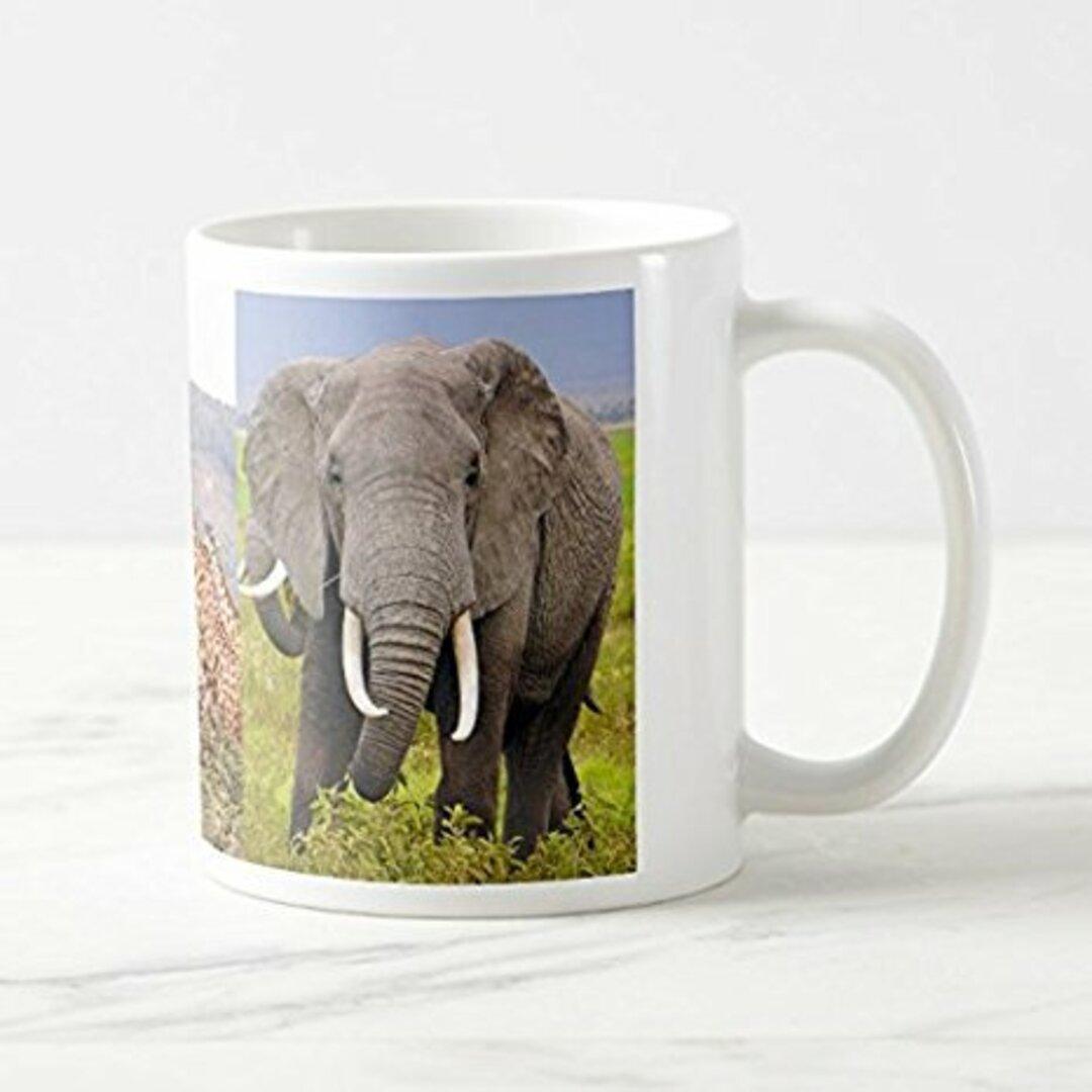 アフリカの動物のマグカップ 1:フォトマグ(世界の野生動物シリーズ)