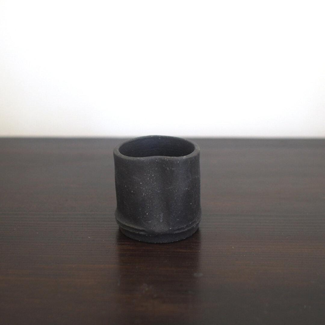 Bamboo series 竹炭モチーフ 炭化ぐい吞み ショットグラス 1