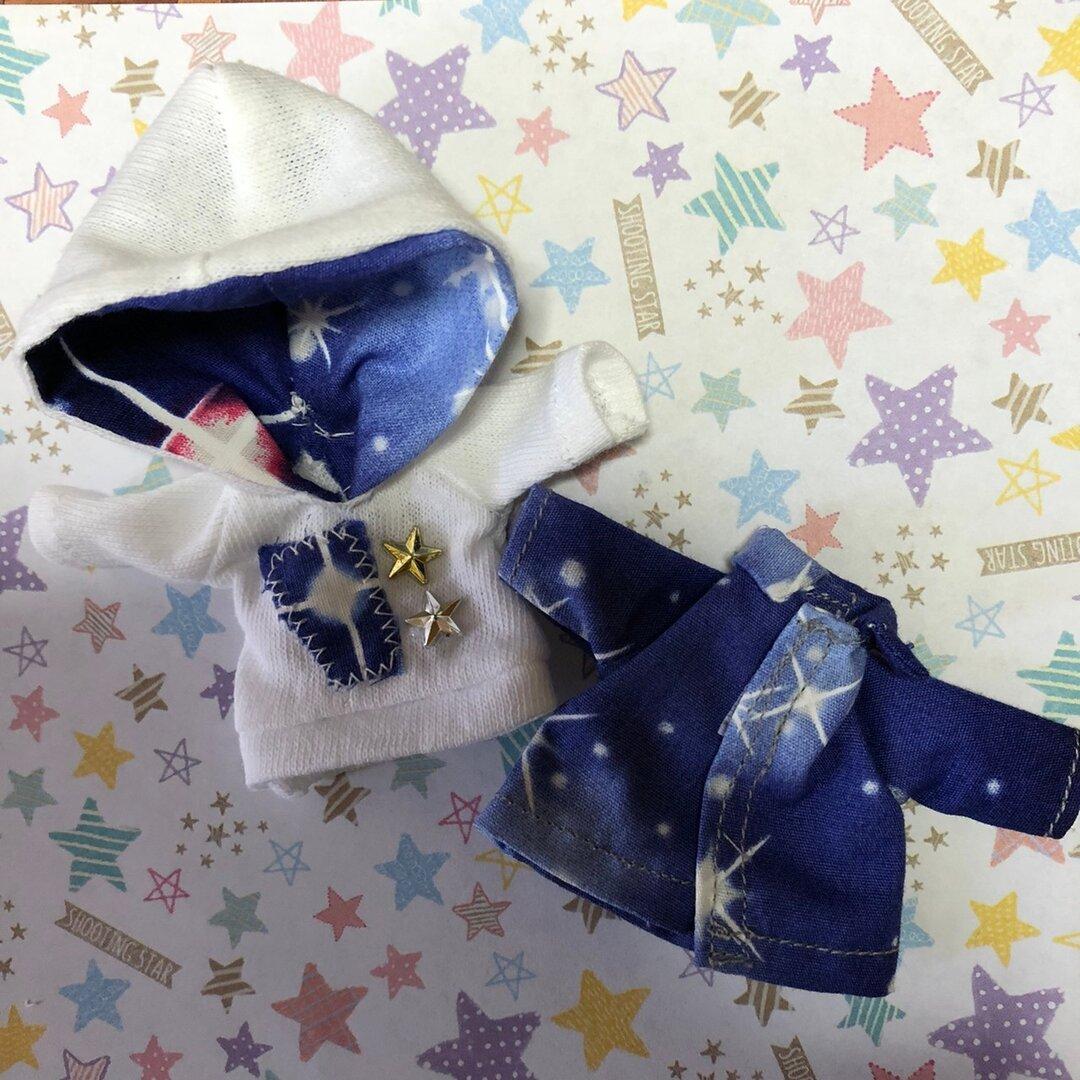 【オビツ11】シャツとフードパーカー①