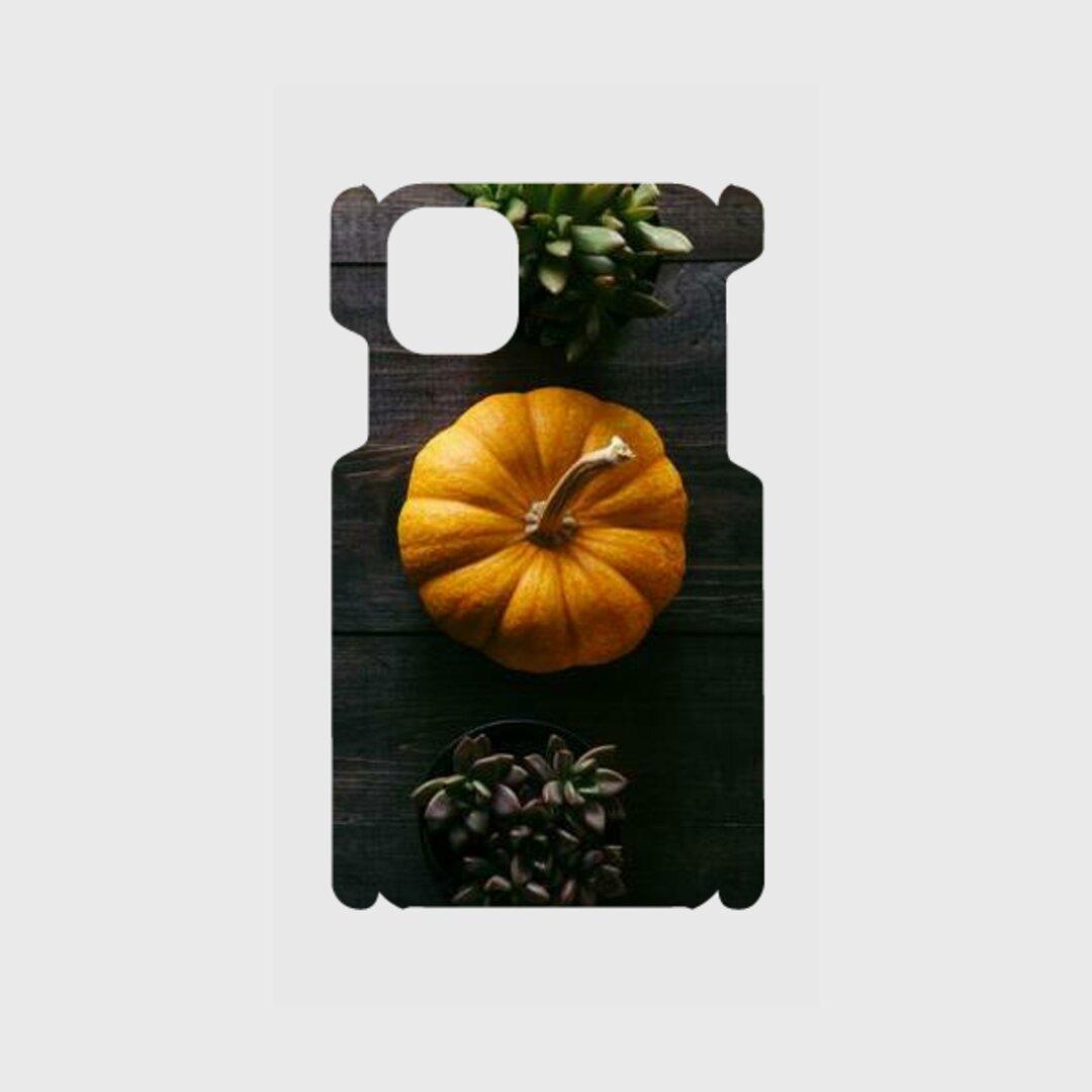 かぼちゃのデザインスマホケース
