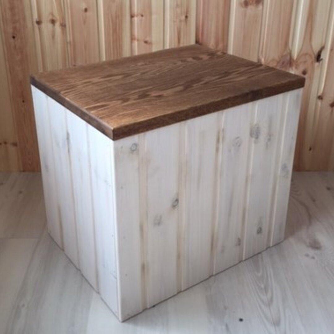 ベンチ兼収納BOX ワイド45㎝
