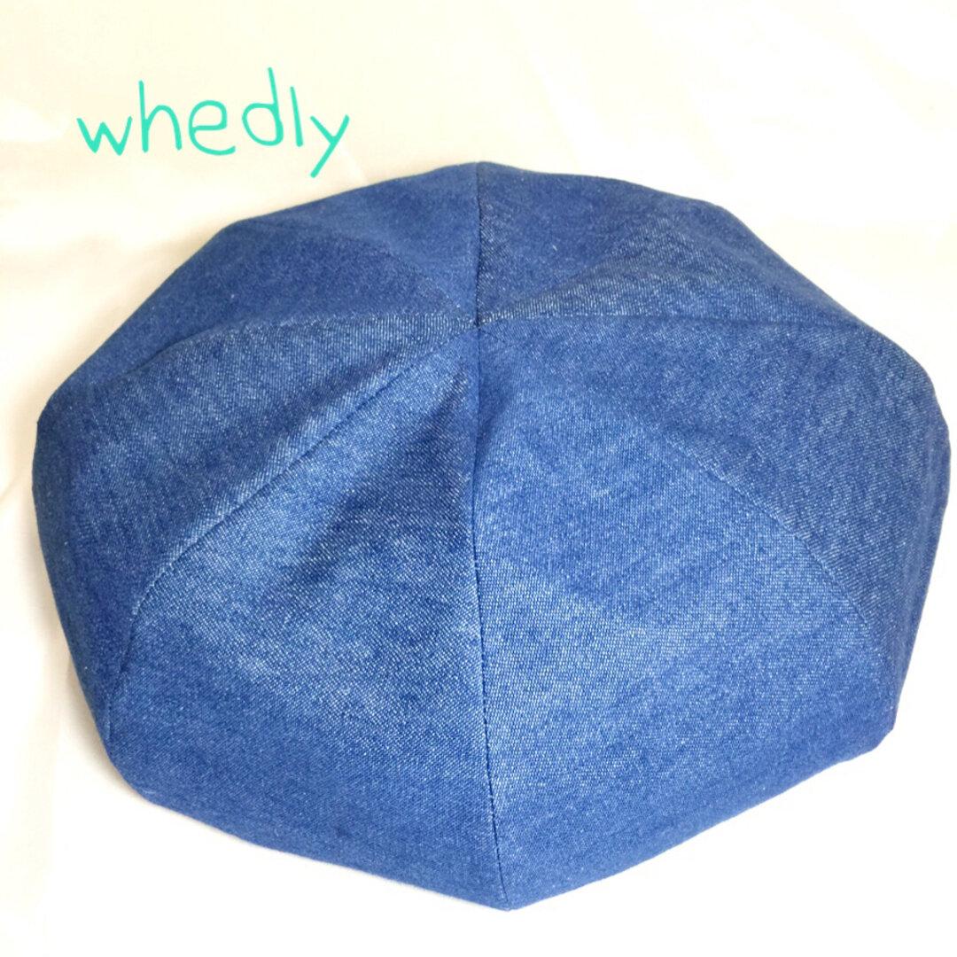 限定1個販売 デニム8パネルベレー帽  1-16