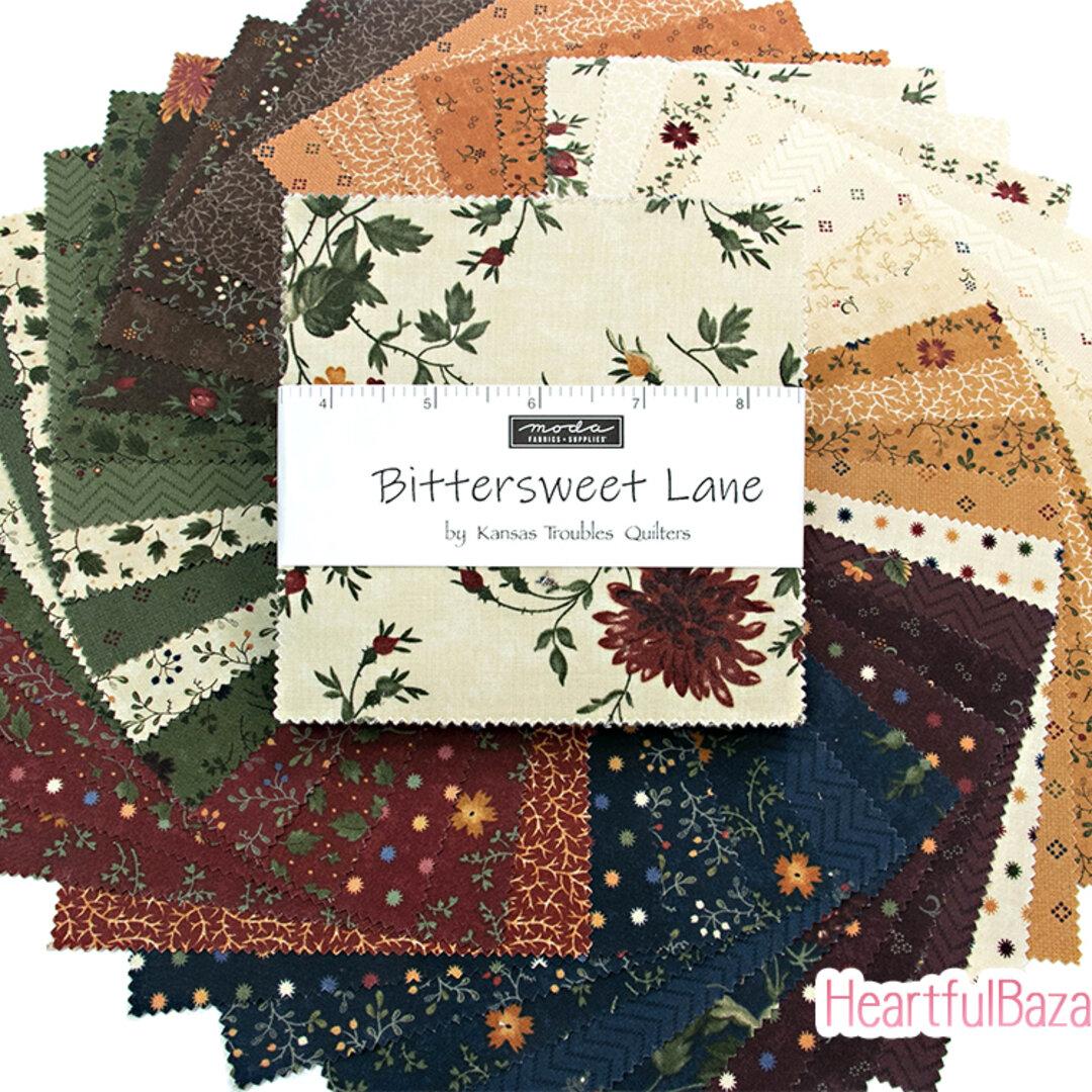 USAコットン moda charmpack 42枚セット Bittersweet Lane  生地 布 花柄