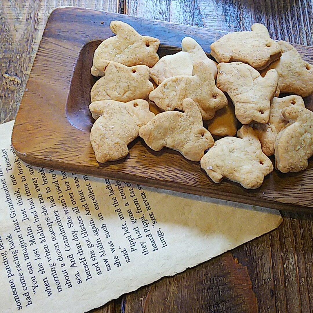 マクロビ岩塩バニラクッキー