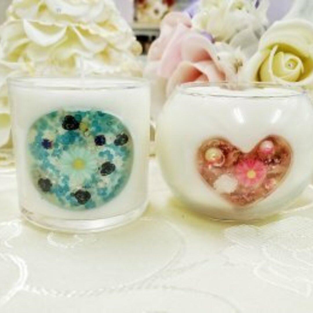 花窓キャンドルカラー&香を選べる♬