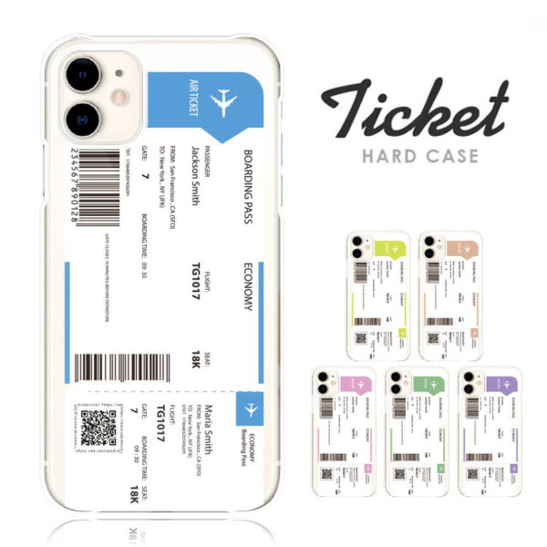 抗菌 送料無料 スマホケース 韓国 チケット ハードケース 多機種対応 iPhone 13 mini Pro 12 11 AQUOSsense4 Xperia III 5G OPPO 他 カバー