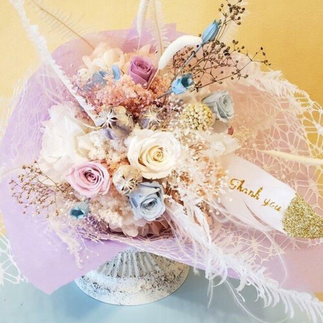キャンディーカラーのミニブーケ 母の日 ギフト 両親贈呈品 お祝い 花束