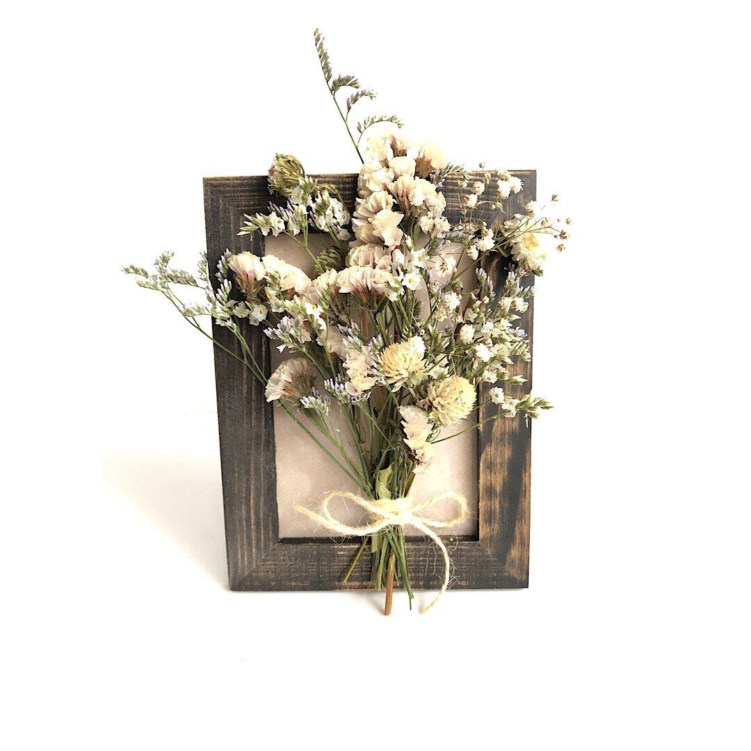 ドライフラワー花束インテリア(壁掛け)