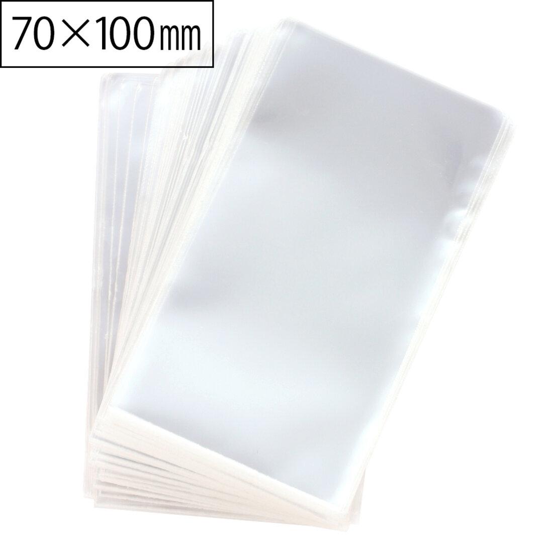 【300枚】日本製 OPP袋 L  (7㎝×10㎝) テープなし  透明度が高く丈夫! ラッピング [O001L-300]A010