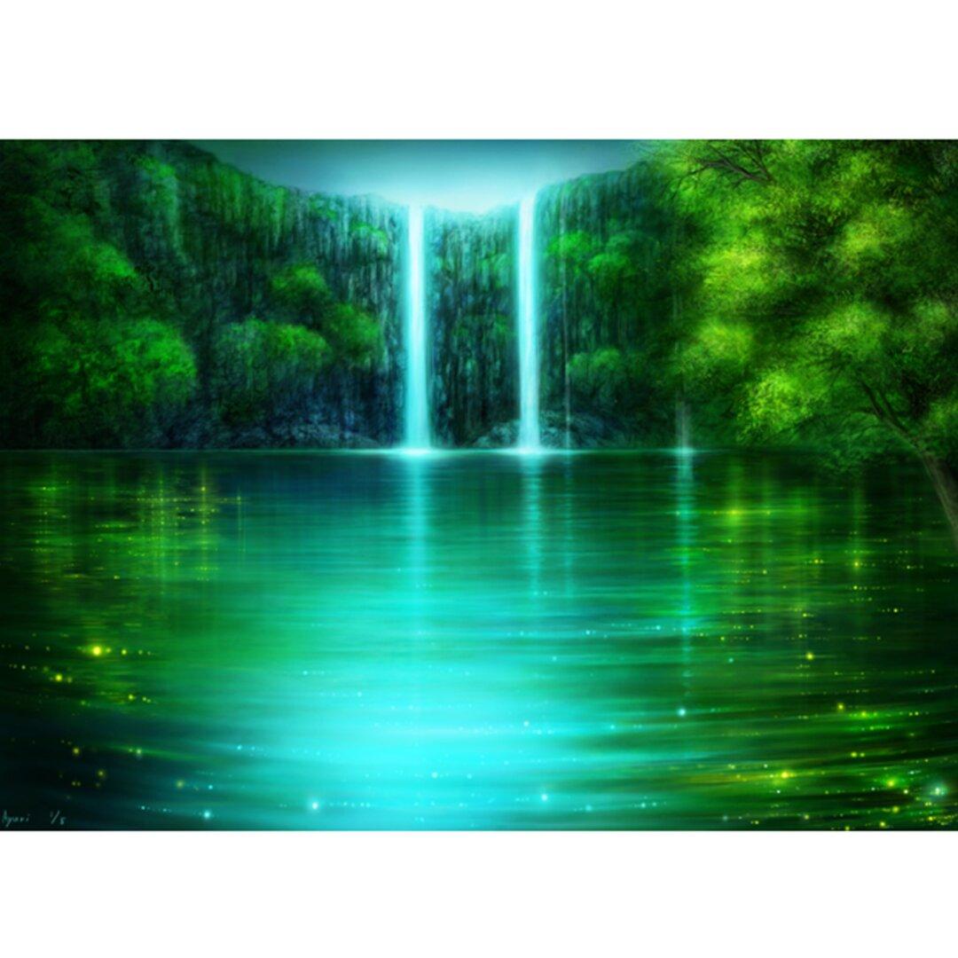 Emerald Falls  (A4サイズ)