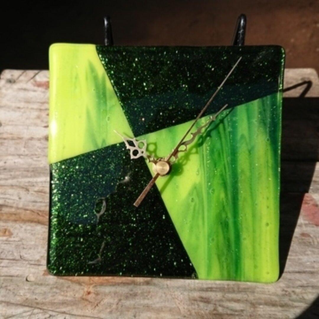 フュージング 時計  グリーン