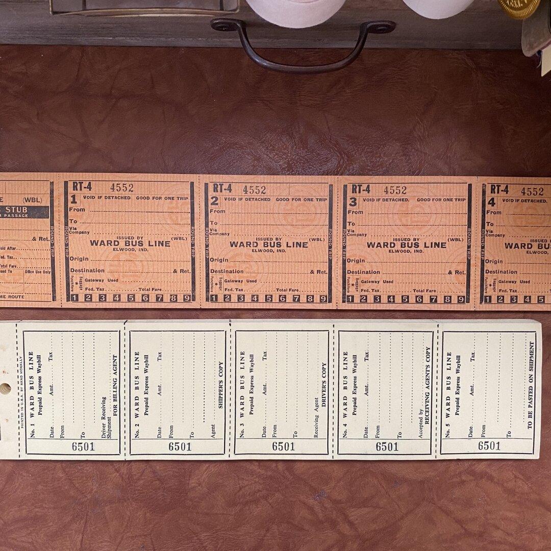 アメリカ 長いチケット 2種類