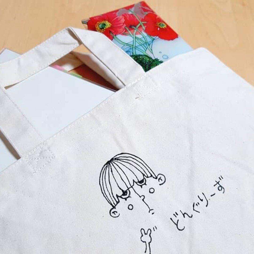 394番/Mサイズキャンバスバッグ①
