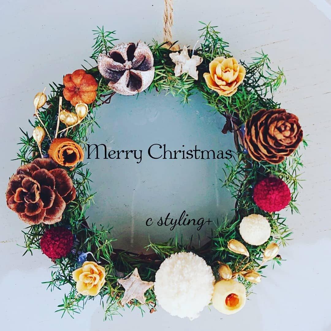 手作りキットでおうち時間 手のひらサイズのクリスマスミニリース