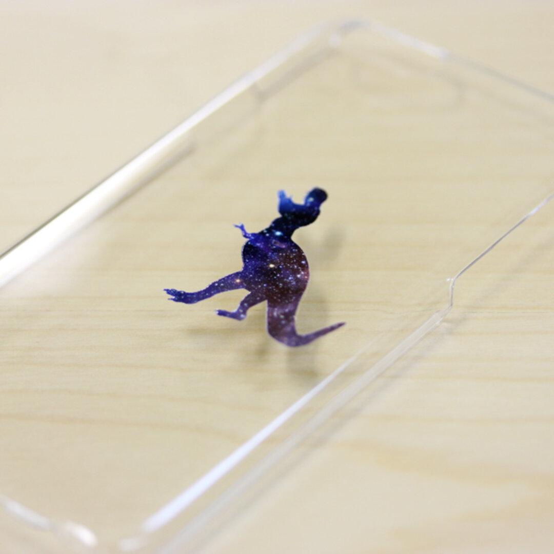 iphone12mini ケース 恐竜 宇宙