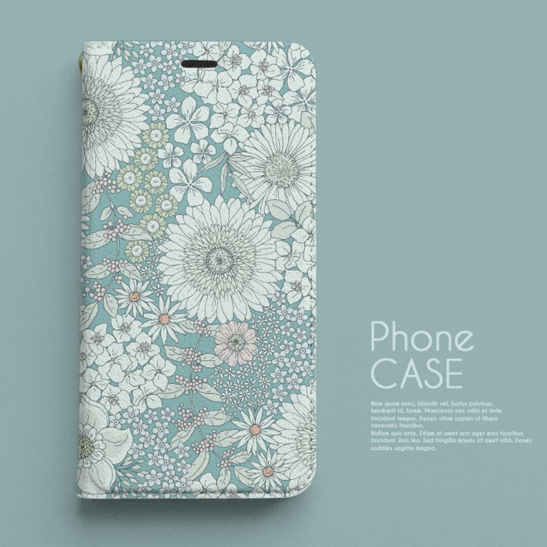手帳型スマホケース《iPhoneケース》mice_n187
