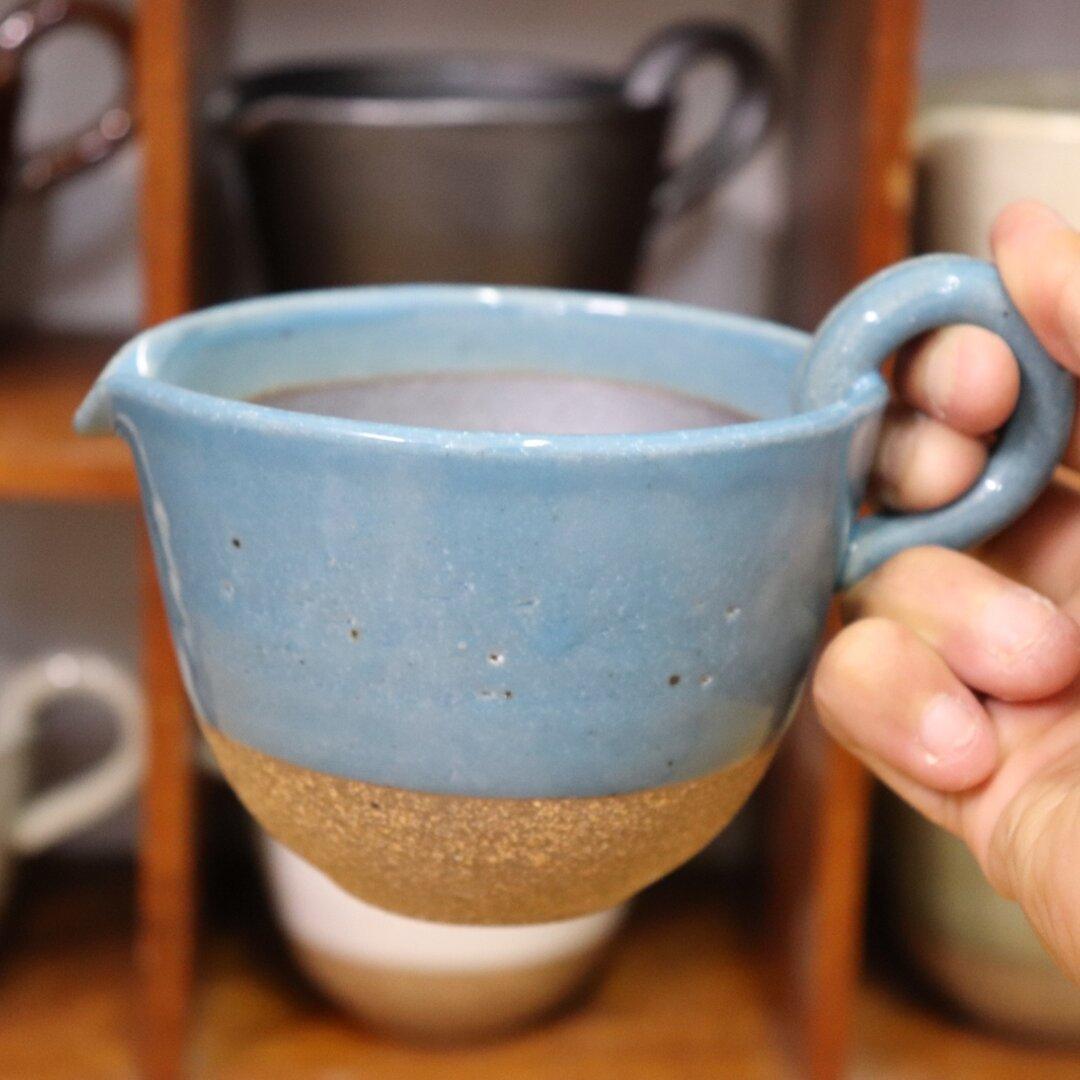 納豆鉢(ブルー)