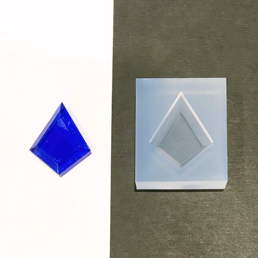 シリコンモールド ダイヤ 【Y011】