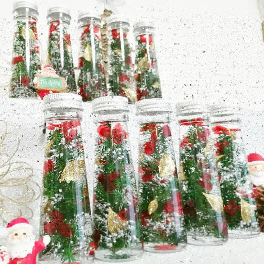 ♡クリスマスハーバリウム(ミニボトル)