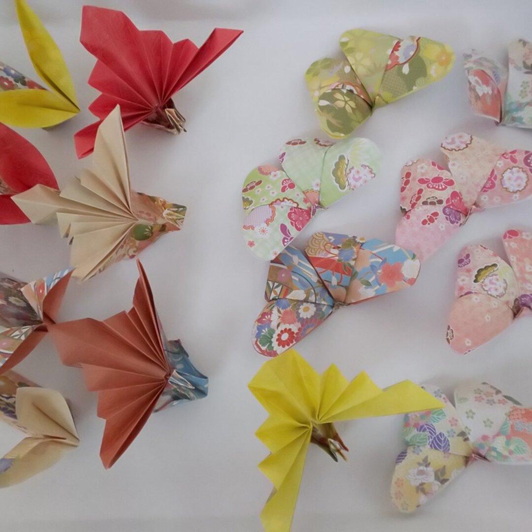 和柄折り紙 ~箸置き~