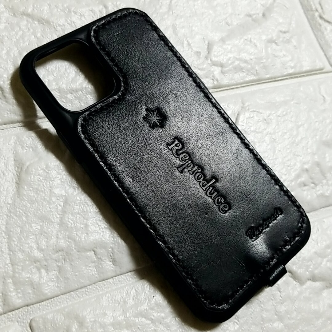 レザークラフトiphone11PROケース