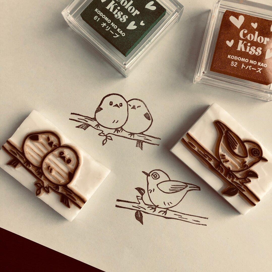 【受注製作】小鳥を愛するスタンプ