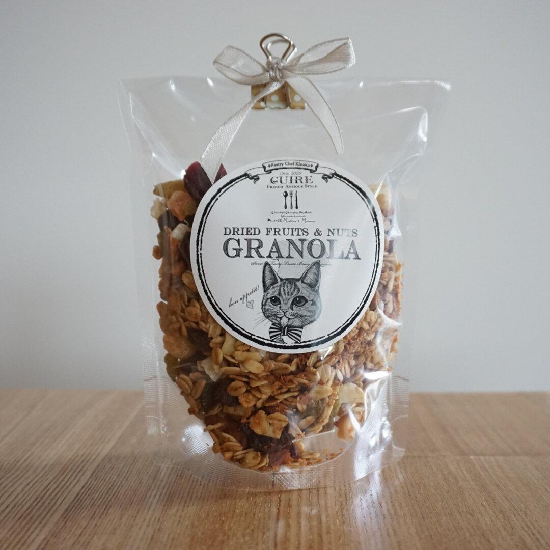 【ポスト便で届く☆】焼き菓子屋さんが作った理想の朝食グラノーラ(シナモン)☆