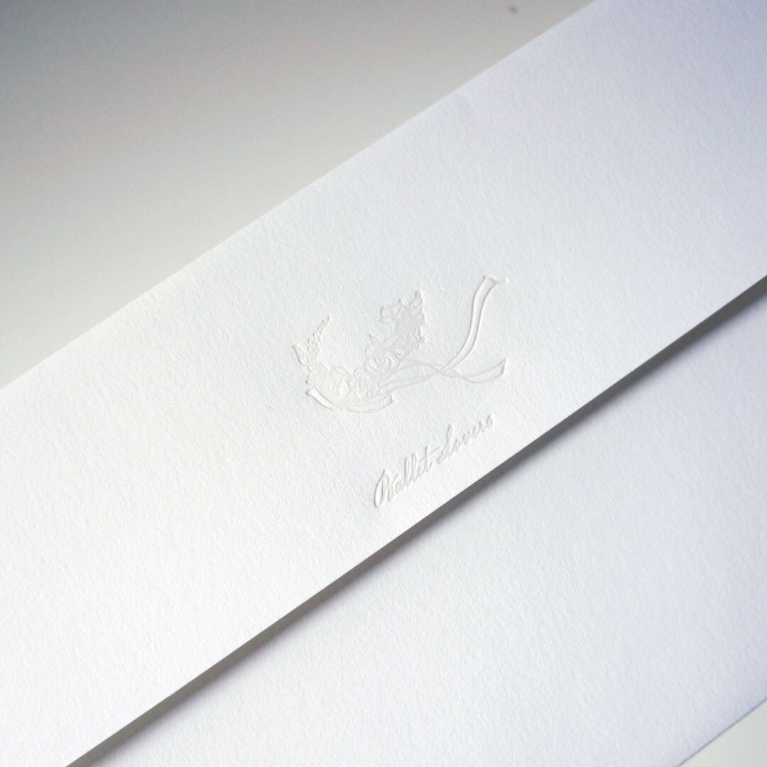洋6封筒 3枚セット  花冠