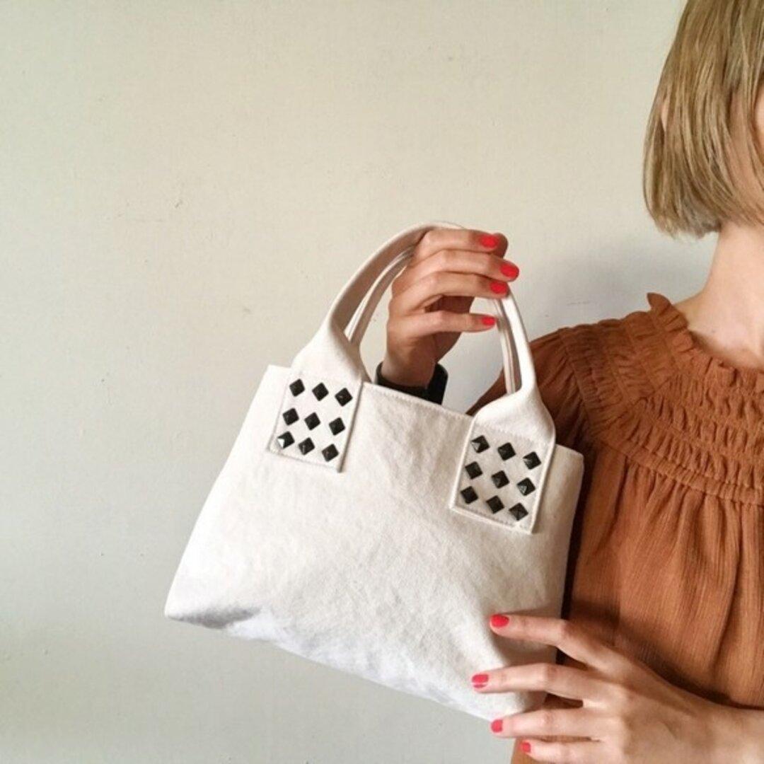 canvas tote bag mini (ecru)