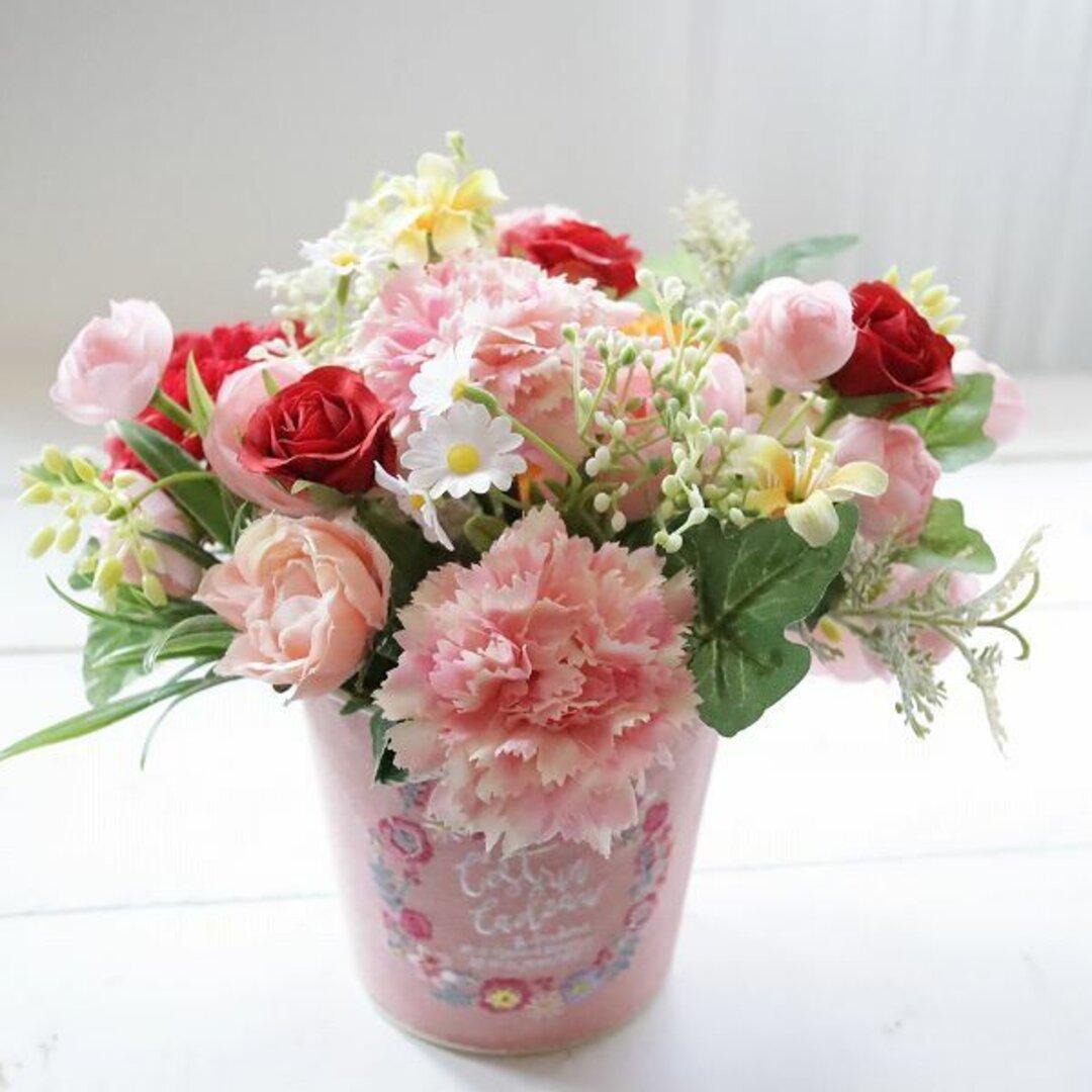 フラワーアレンジメント 枯れないお花 先方様への直送OK 敬老の日 ギフト バースデー お祝い