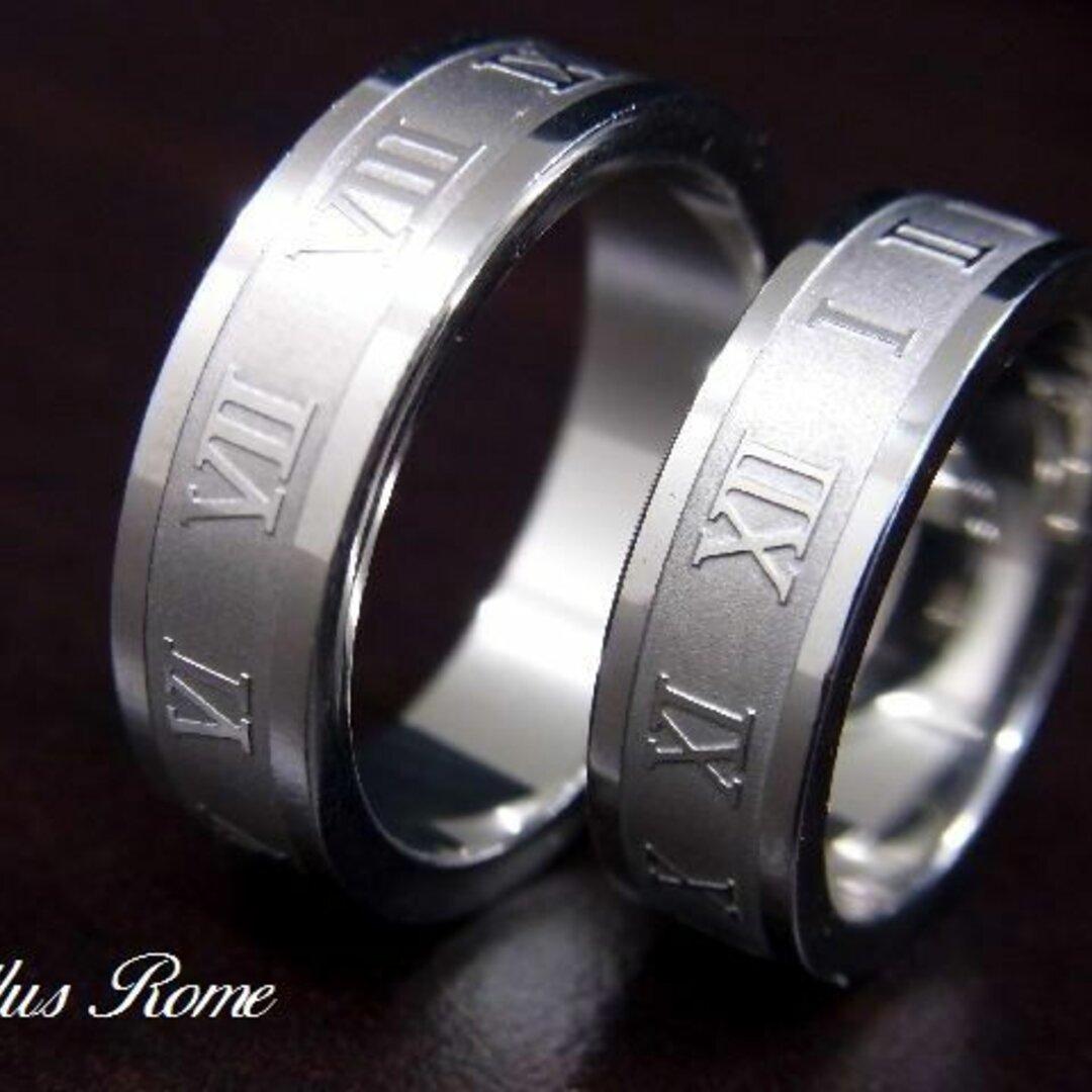 【イニシャル・星座が選べる】ネックレスリング シンプルライン 指輪 ペアリング ネックレス【2本ペア価格】