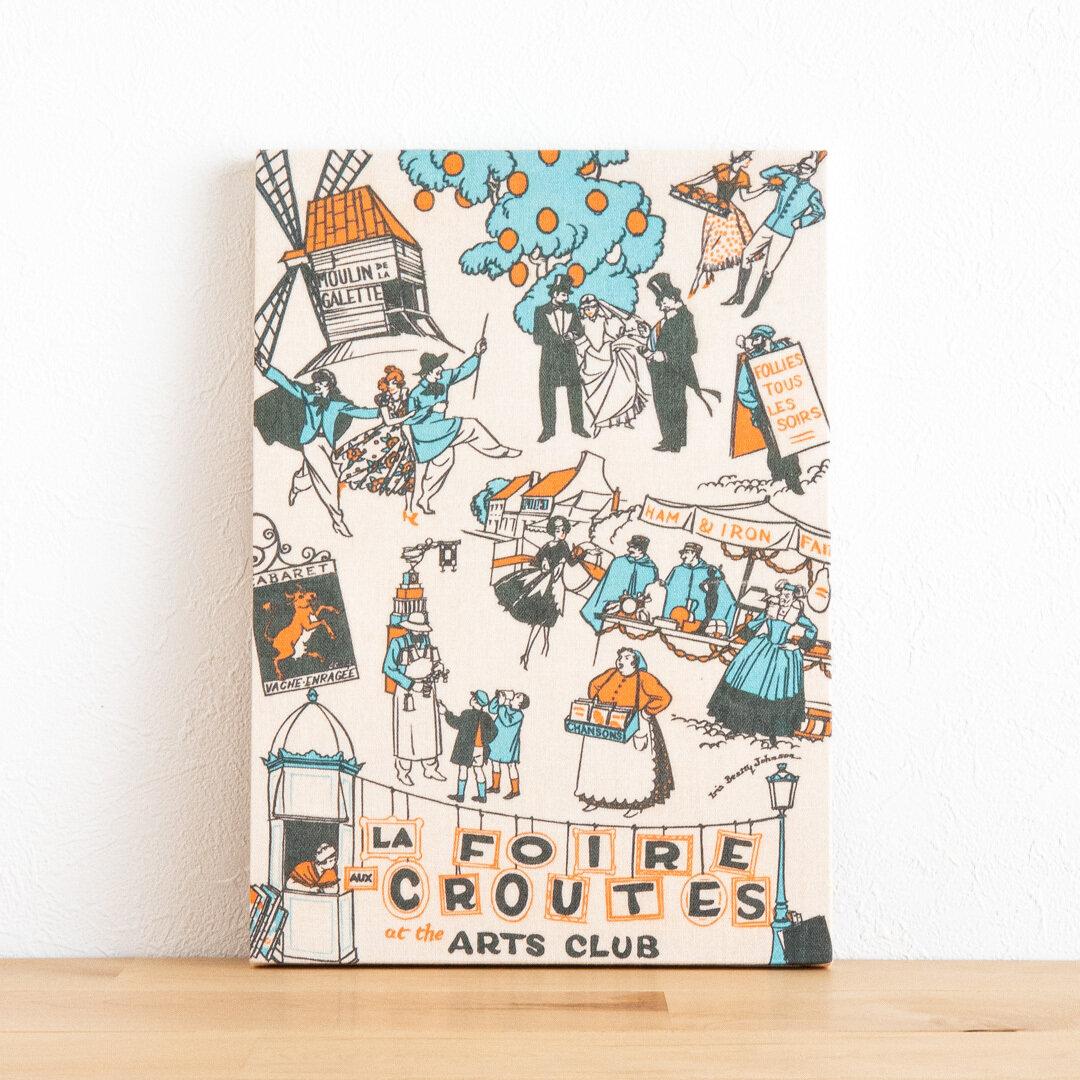 ファブリックパネル・ファブリックボード - 『アートクラブ・フェスティバル』