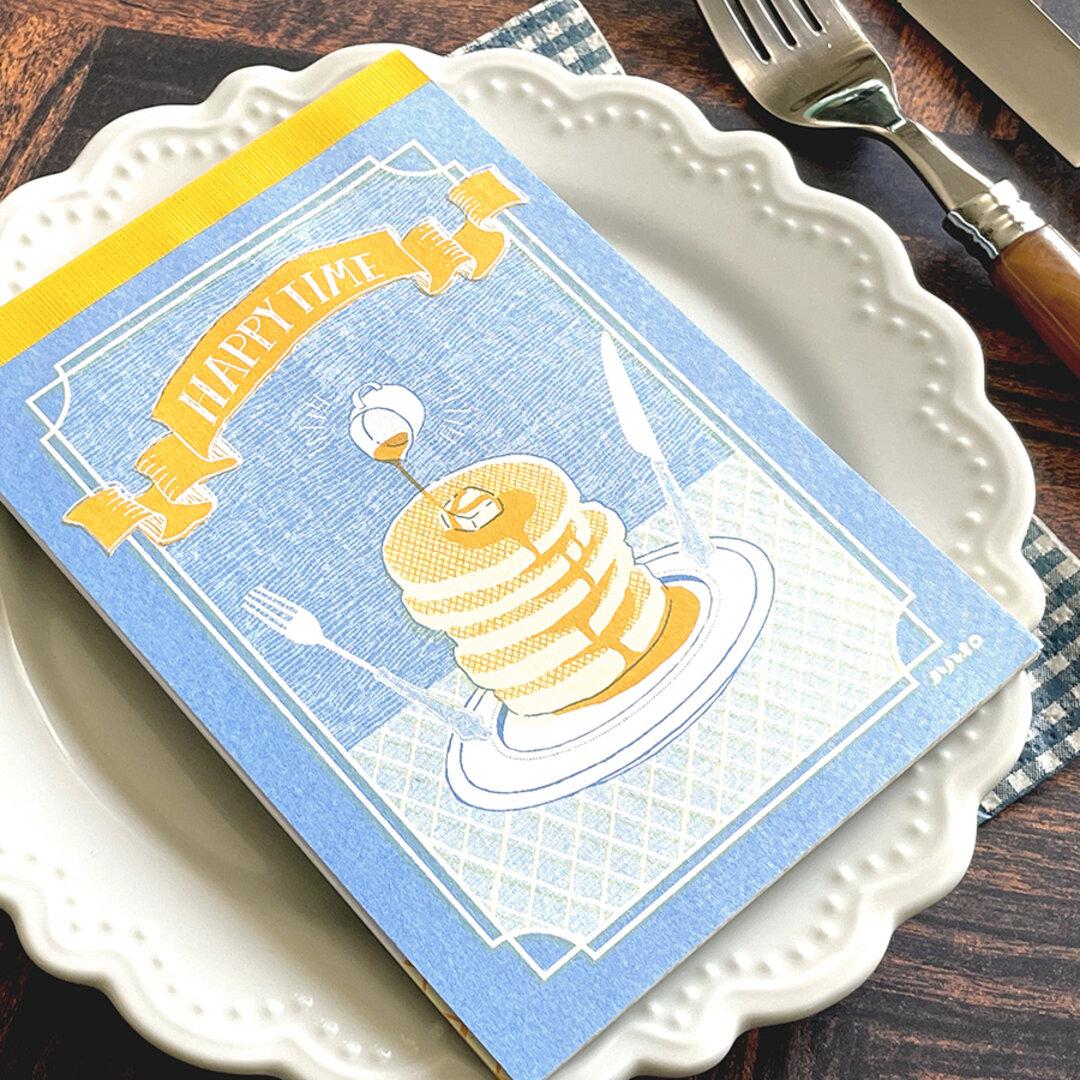 HAPPY TIME メモ帳 ホットケーキ