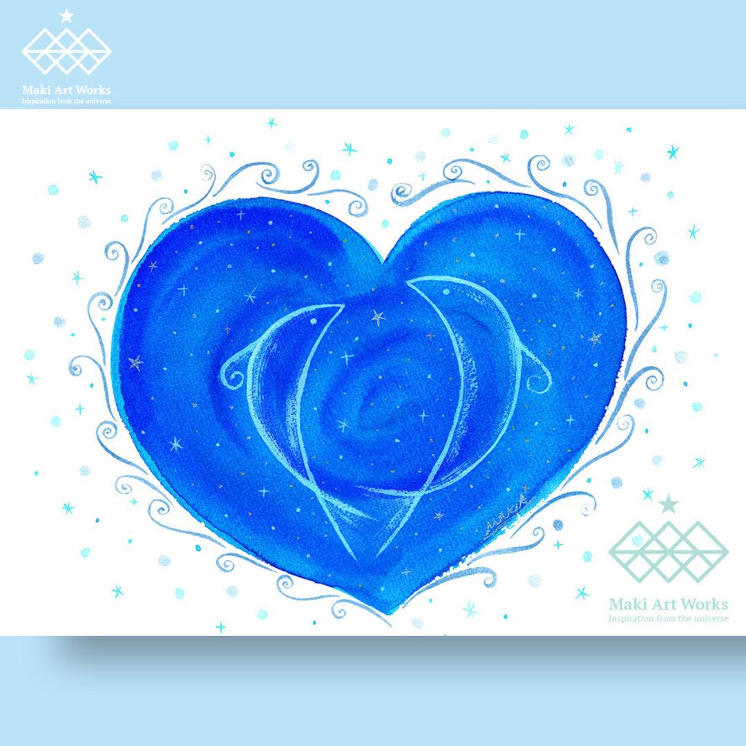 Beautiful heart/ポストカード