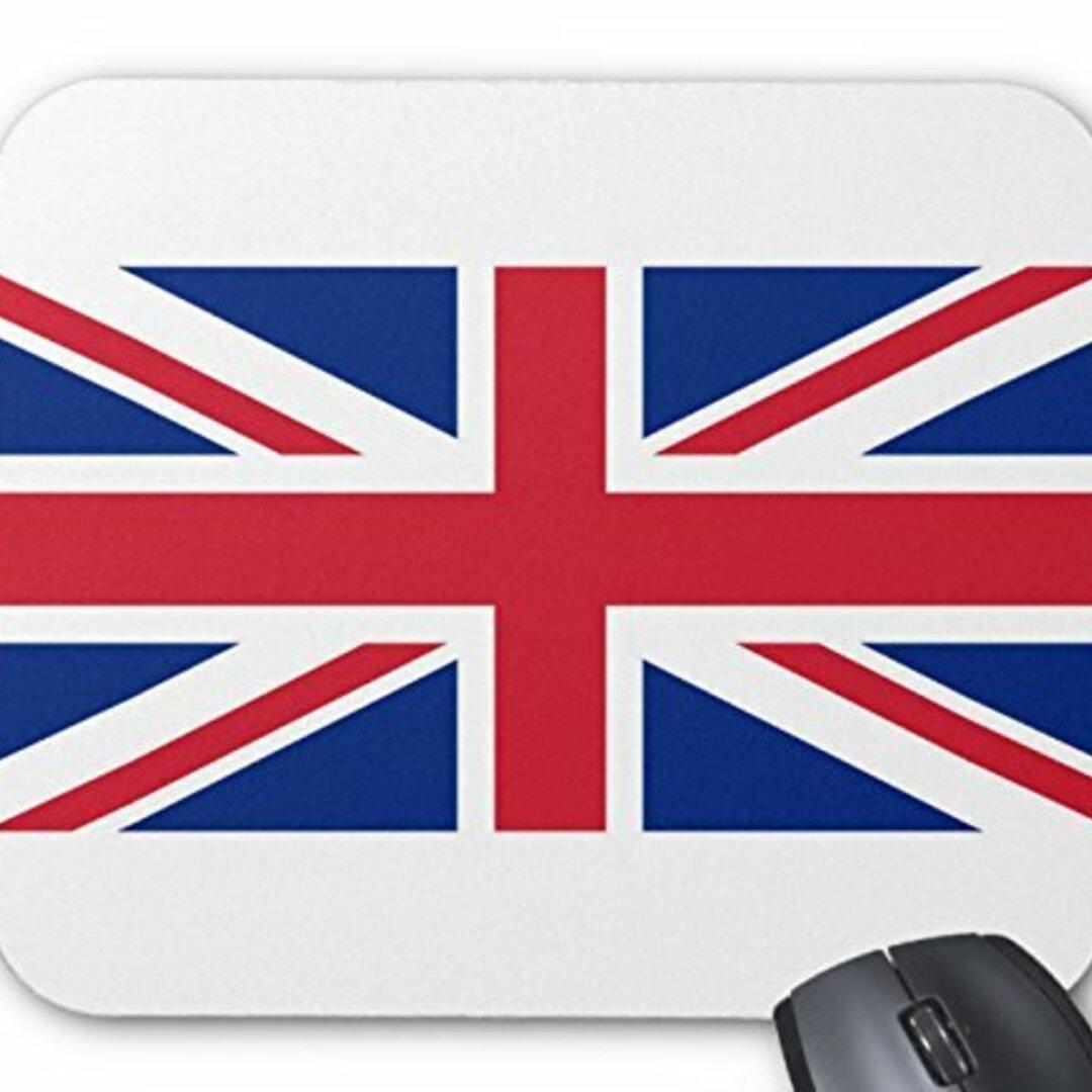 イギリス国旗、ユニオンジャックのマウスパッド :フォトパッド( 世界の国旗、軍旗シリーズ ) (B)