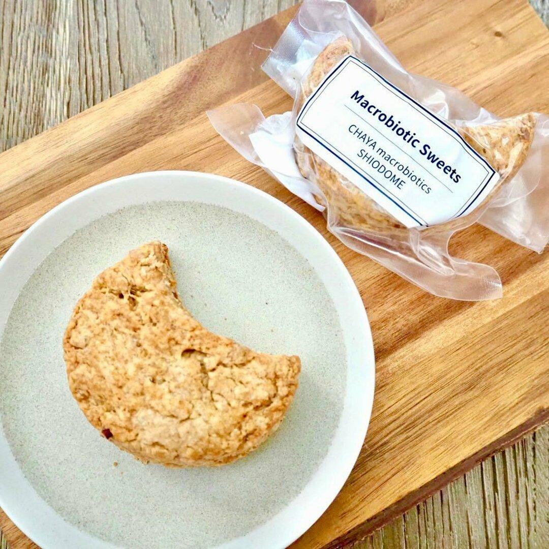 古代小麦のマクロビムーンスコーン <マクロビ・ビーガン対応/添加物・香料・保存料・着色料・化学調味料・白砂糖・乳製品・卵不使用>
