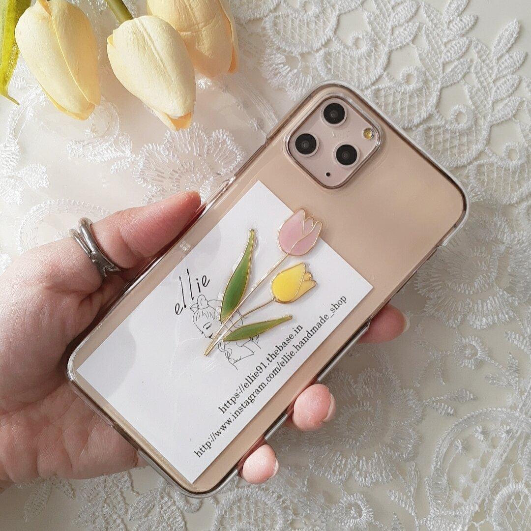 チューリップiPhoneケース