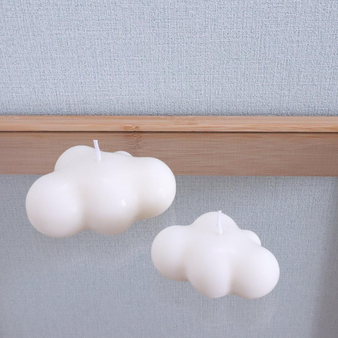 𓊆大きな雲のソイキャンドル𓊇   韓国インテリア ❁ 癒しの時間に