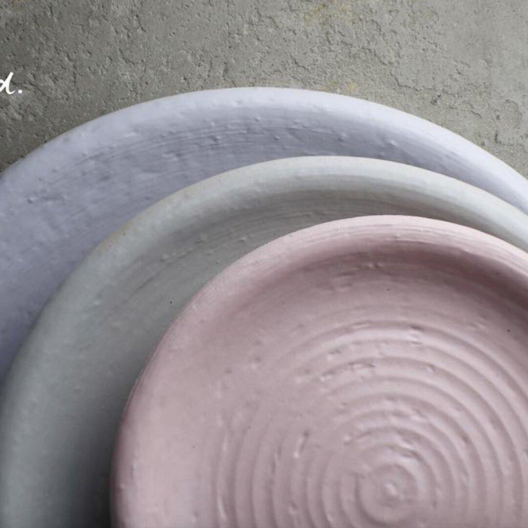 丸皿(サイズM)/muted colors line -m.m.d-