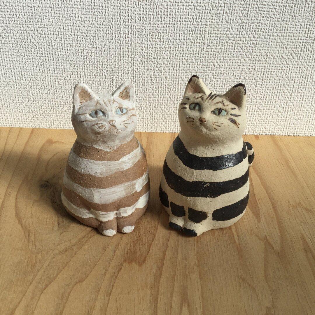 しましまトラ猫2種