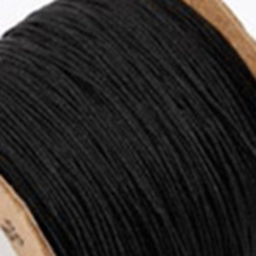 【黒】P008:中国結び用紐0.5mm (台湾AB線・72号)22メートル単位売