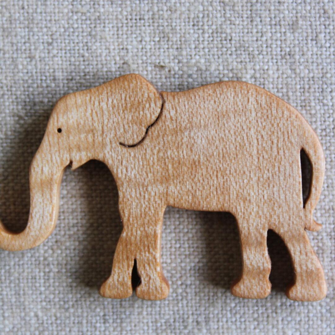 木製ゾウアクセサリー(セミオーダー)