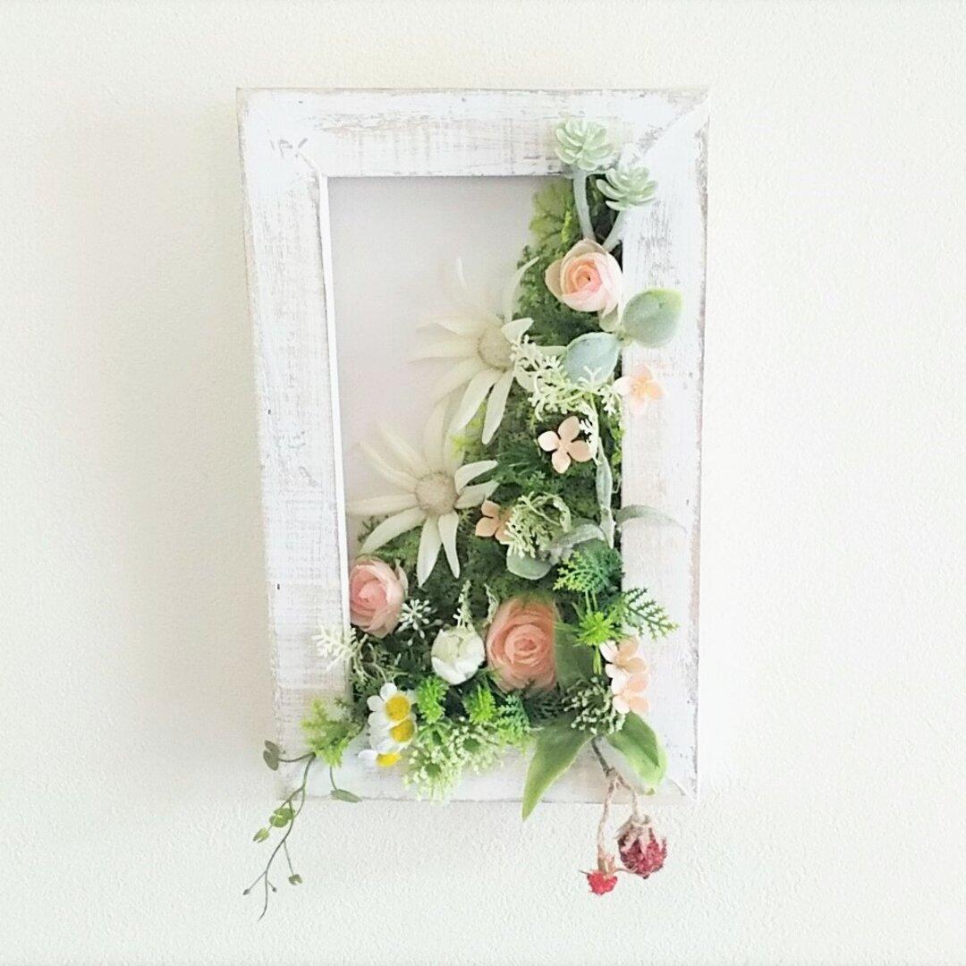 壁掛け    ブバリアピンク    玄関、 結婚記念日、母の日、ウェディング、記念日ギフト,ニッチなど。