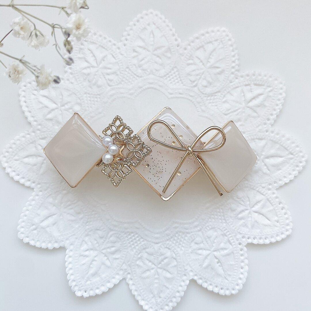⌇ 新作⌇Beige *:.。ribbon Valetta