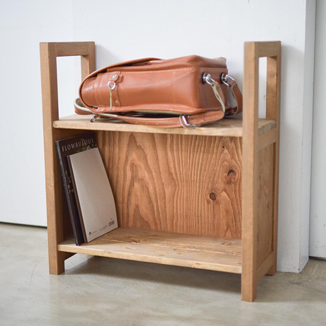 教科書もしまえるランドセル収納 バッグや観葉植物ラックにも