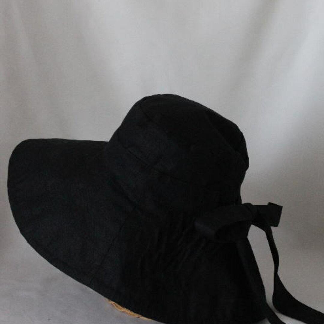 サイズオーダー とってもつば広キャプリーヌ 帽子 受注生産