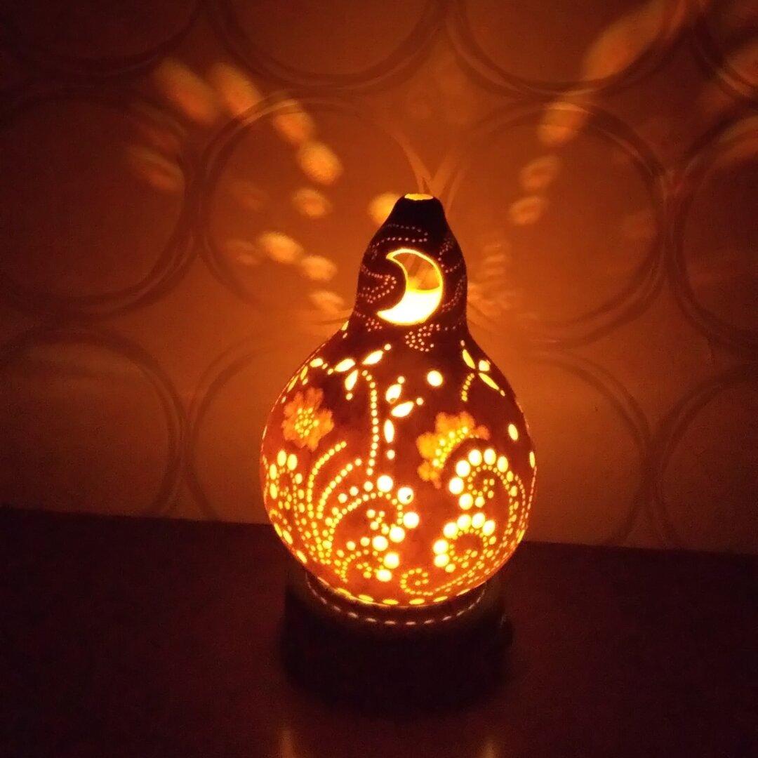 ひょうたんランプ 照明 間接照明